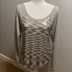 Cute sequin sweater from express